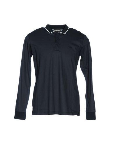 Emporio Armani Polo Shirt In Dark Blue