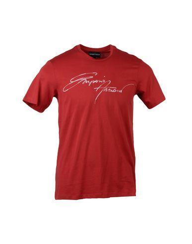 Emporio Armani In Red