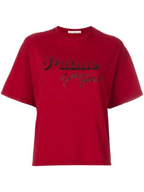 Golden Goose 'grace' T-shirt In Red