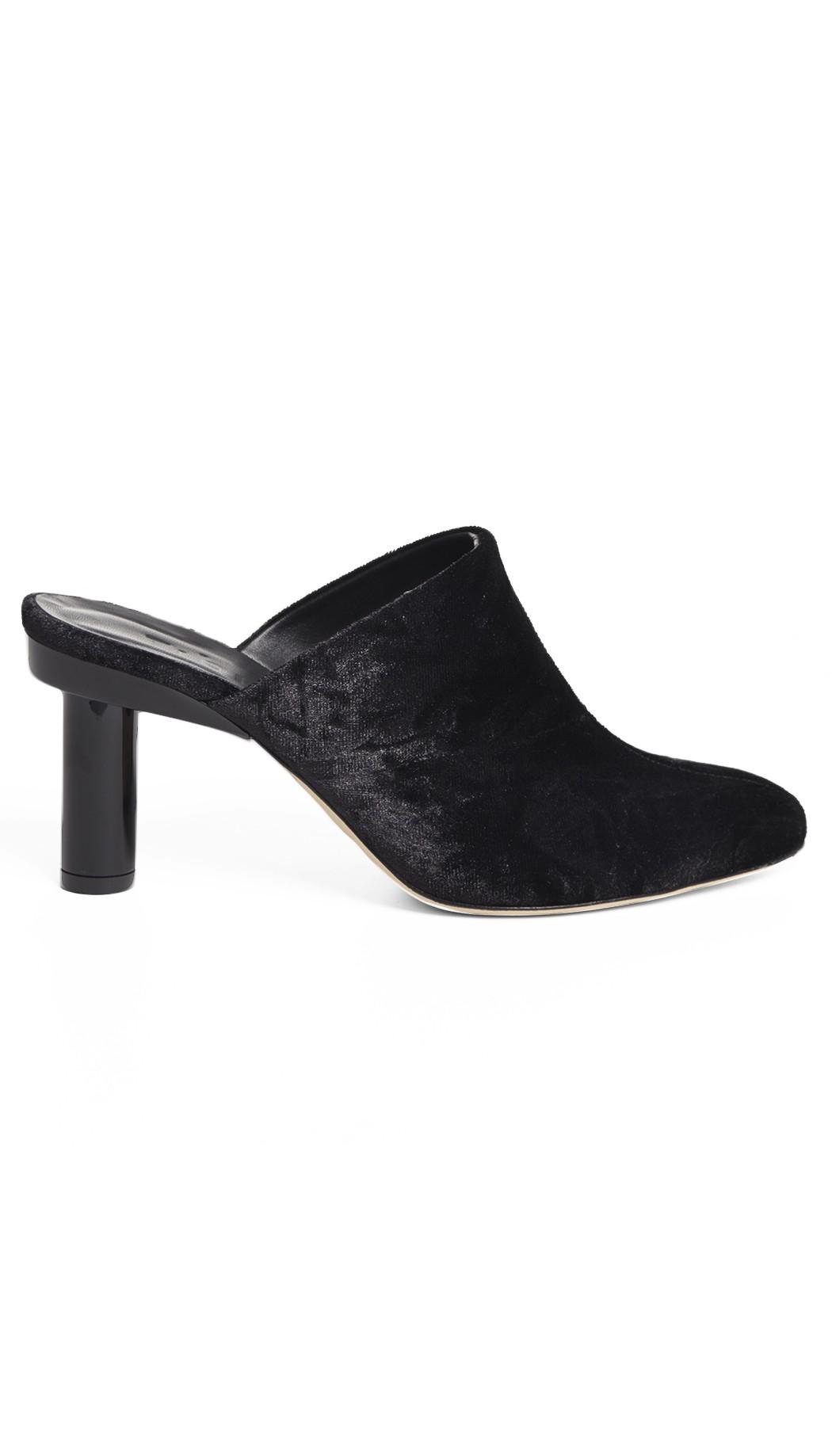 Tibi Black Zoe Heels