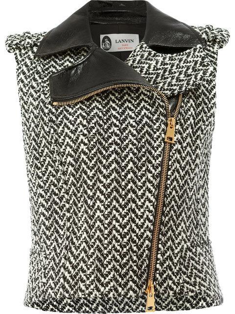 Lanvin Tweed Style Gilet