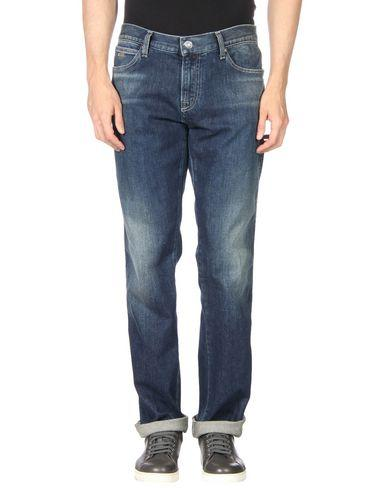 Emporio Armani Denim Pants In Blue