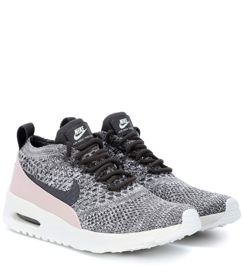 a4fedc0f61 Nike Women's Air Max Thea Ultra Flyknit Lace Up Sneakers In Geranium ...