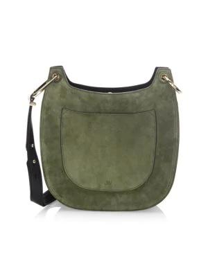 Jason Wu Basic Saddle Bag In Olive