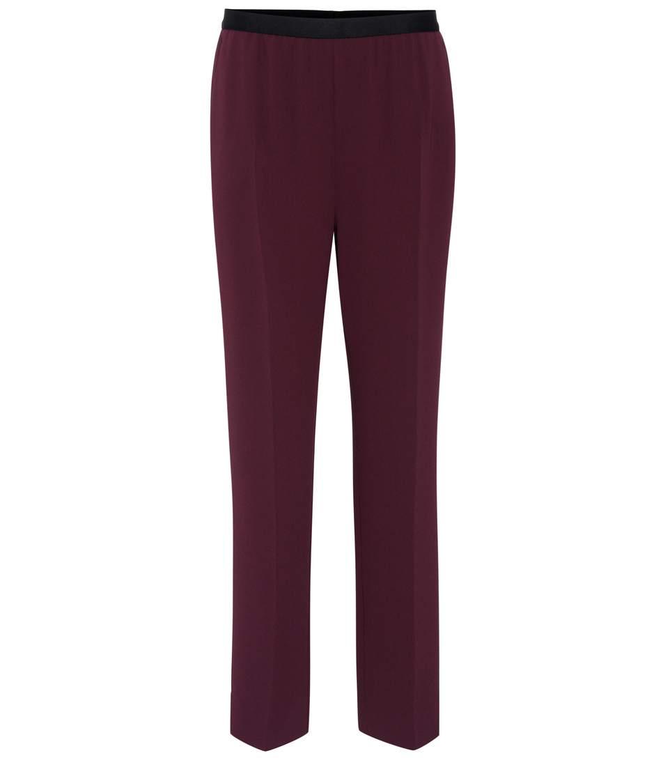 Maison Margiela CrÊpe High-waist Trousers
