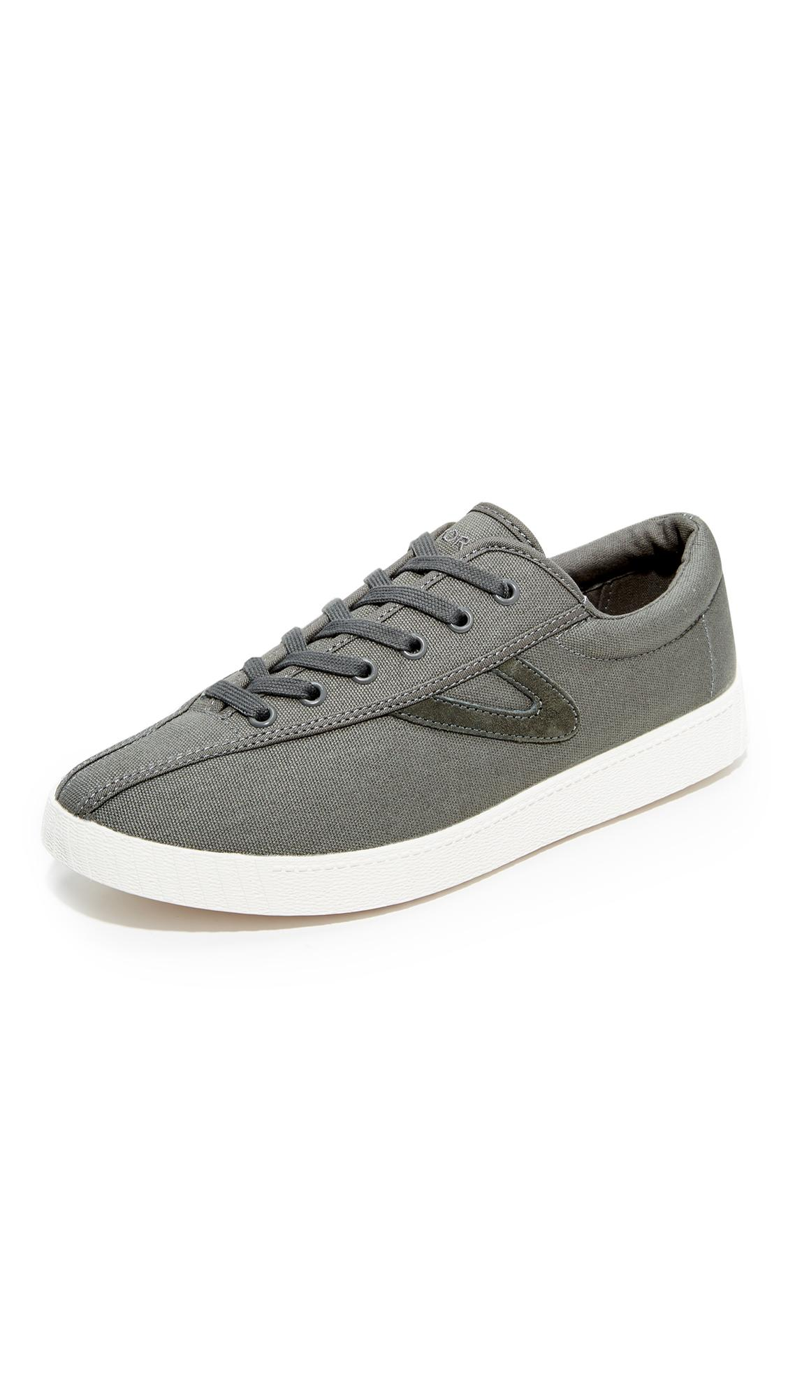 Tretorn Nylite Plus Sneakers In Black Washed Camo