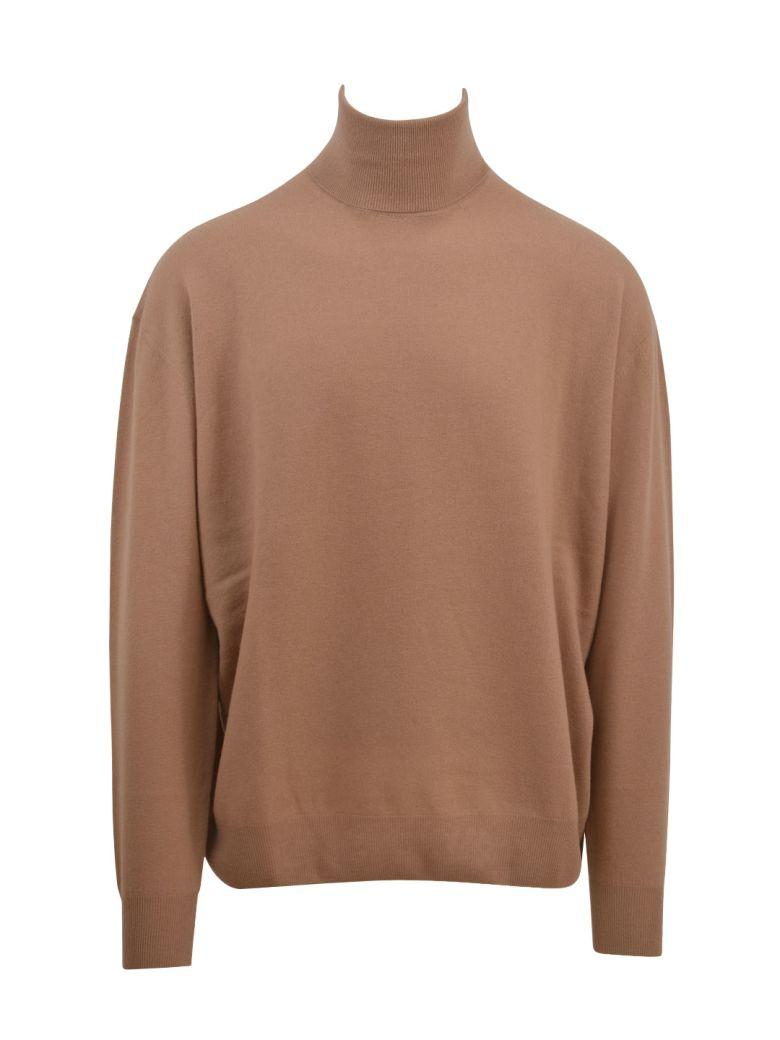 Stella Mccartney High Neck Sweater In Beige