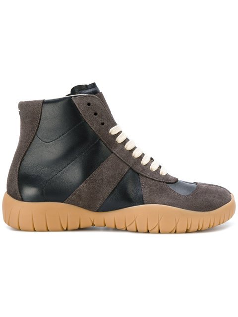Maison Margiela Tabi Hi-top Sneakers