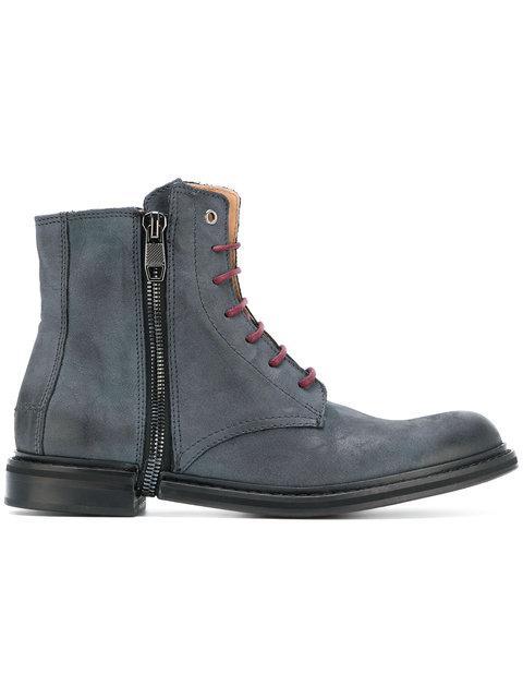Diesel Zip Phim Boots - Blue