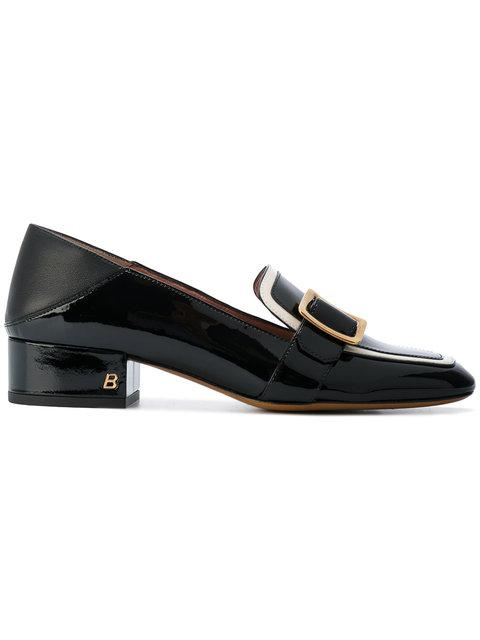 Bally Buckled Loafers  In Black