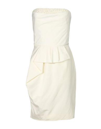 Lela Rose Short Dress In Ivory