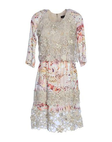 Mulberry Short Dress In Beige