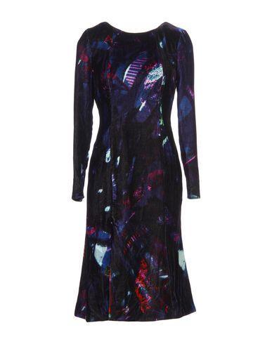 Erdem Knee-length Dresses In Dark Purple