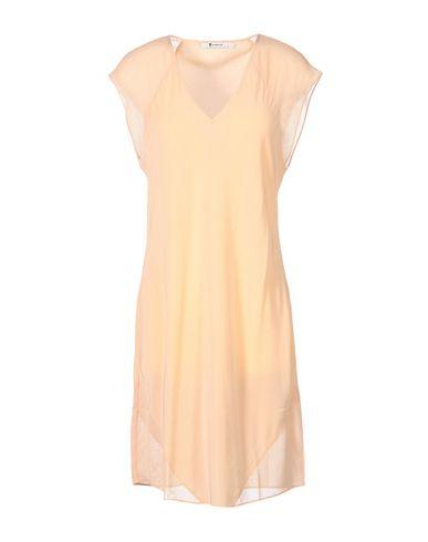 T By Alexander Wang Short Dress In Apricot