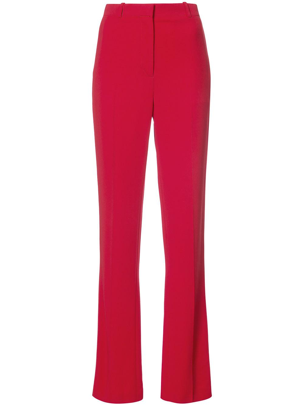 Givenchy Red Tailored Straight Leg Trouser