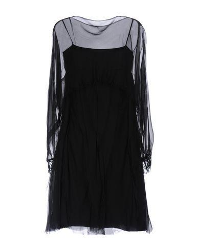 Alberta Ferretti Short Dresses In Black