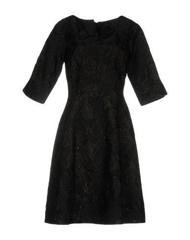 Oscar De La Renta Knee-length Dress In Black