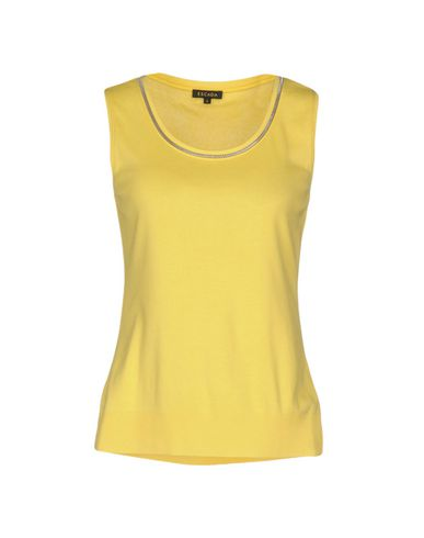 Escada T-shirt In Yellow