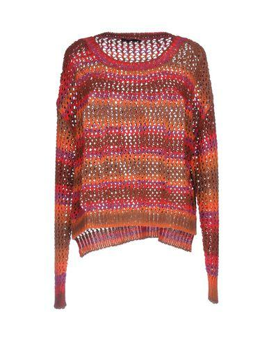 Pinko Sweaters In Orange