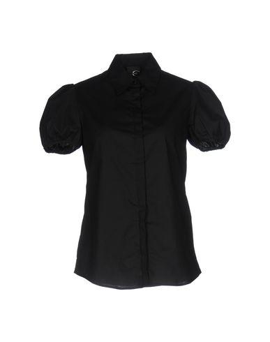 Just Cavalli Solid Color Shirts & Blouses In Black