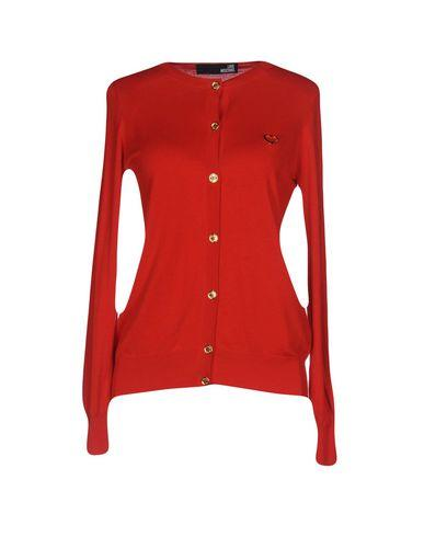 Love Moschino Cardigan In Red