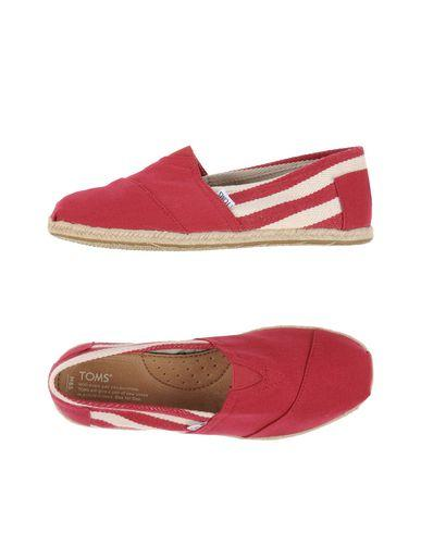 Toms In Brick Red