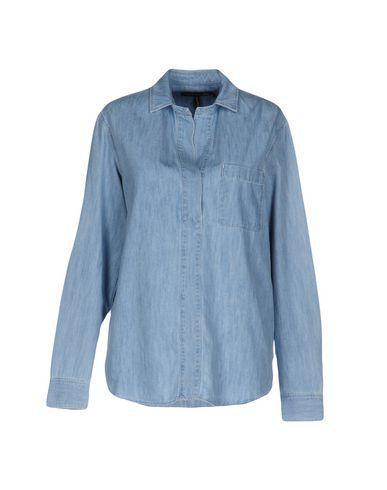 Rag & Bone Denim Shirts In Blue