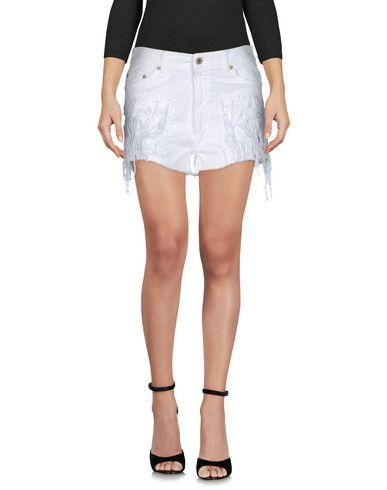 Dondup Denim Shorts In White