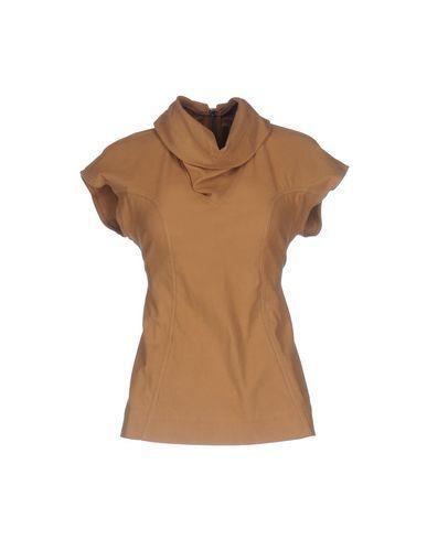 Rick Owens Drkshdw T-shirt In Camel