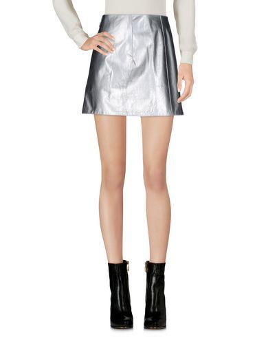 Paco Rabanne Mini Skirts In Silver