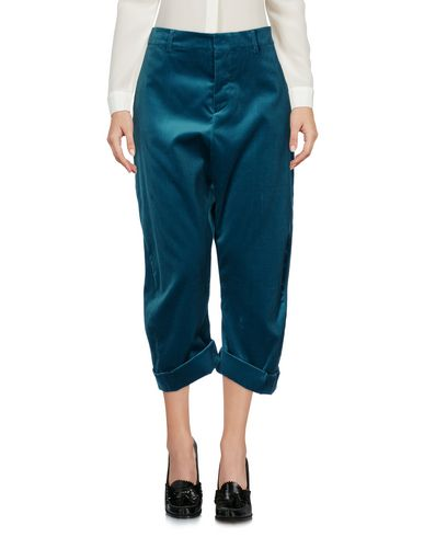 Dsquared2 Cropped Pants & Culottes In Turquoise