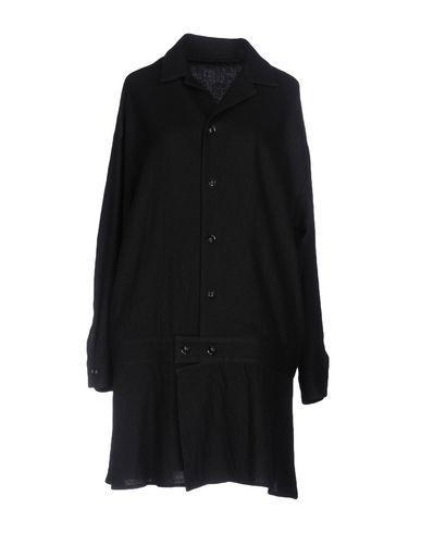 Y's Overcoats In Black