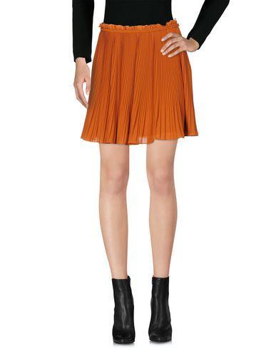 Pinko Mini Skirts In Rust