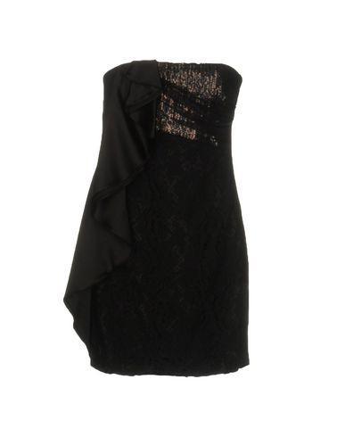 Pinko Short Dress In Black