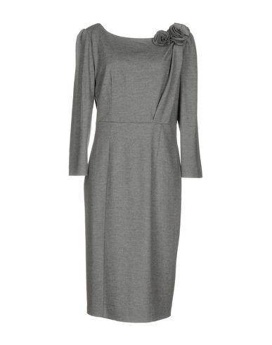 Blumarine Short Dress In Grey