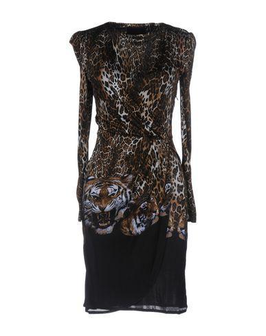Philipp Plein Short Dress In Khaki