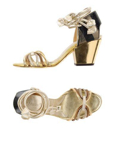 Vivienne Westwood Sandals In Platinum