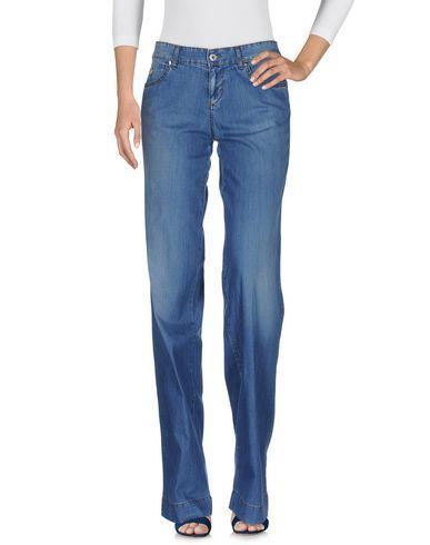 Blumarine Denim Pants In Blue