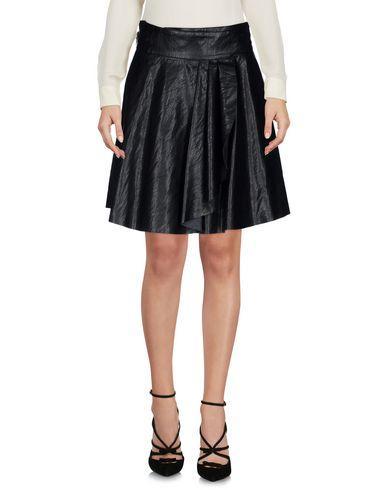 Just Cavalli Knee Length Skirt In Black