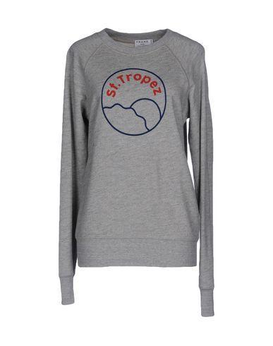 Frame Sweatshirts In Light Grey