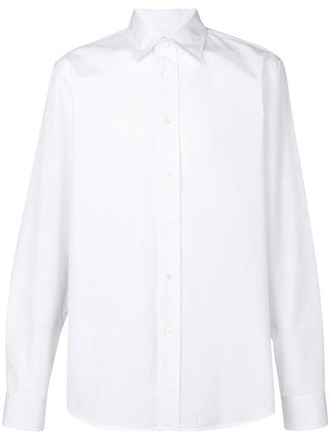 Marni Classic Collar Shirt In White