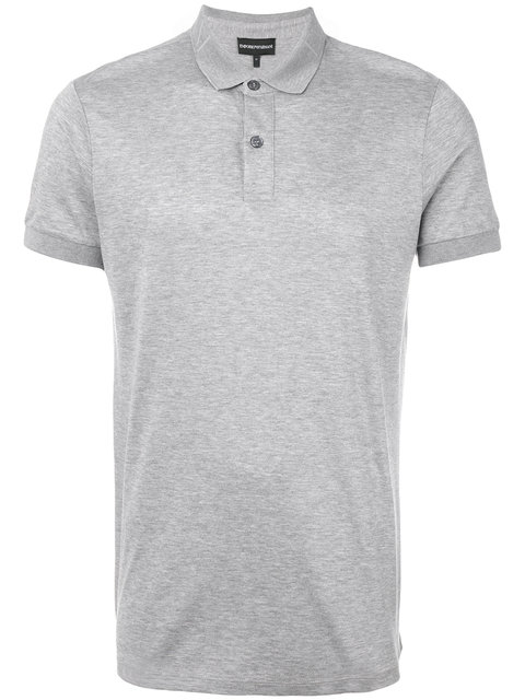 Emporio Armani Polo Shirt With Logo Collar