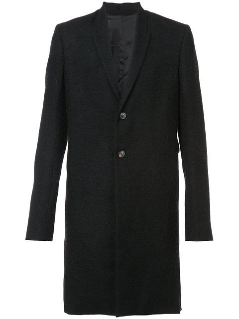 Rick Owens Pharmacy Coat In Black