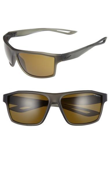 Nike Legend 65mm Multi-sport Sunglasses - Matte Cargo Khaki/ Black
