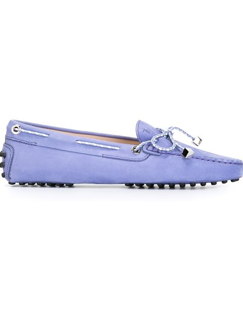 Tod's Gommino Driving Shoes In Nubuck