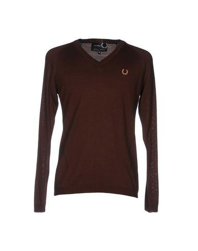 Fred Perry Sweaters In Cocoa