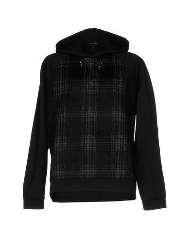 Emporio Armani Sweatshirts In Black
