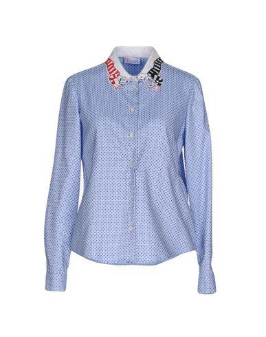 Red Valentino Patterned Shirts & Blouses In Sky Blue