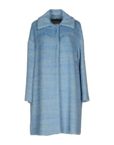 Sportmax Coat In Sky Blue