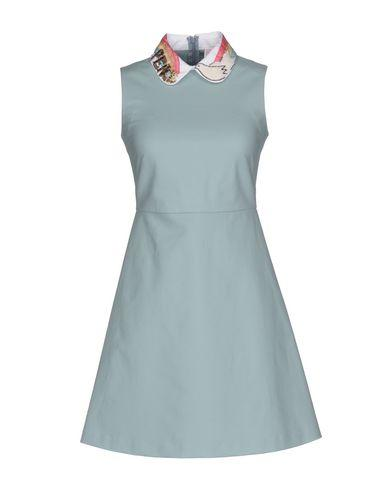 Red Valentino Short Dresses In Sky Blue